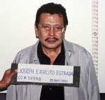 Erap, when arrested... again...