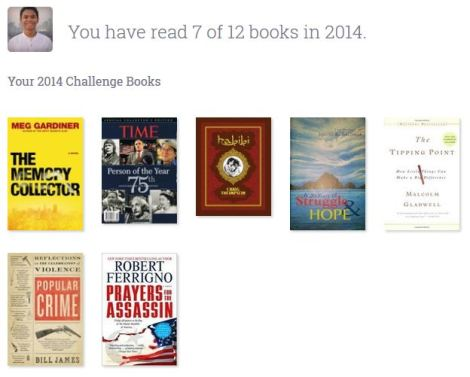 My 2014 in Books